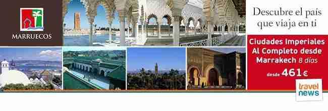 Marruecos – Descubre el país que viaja en tí