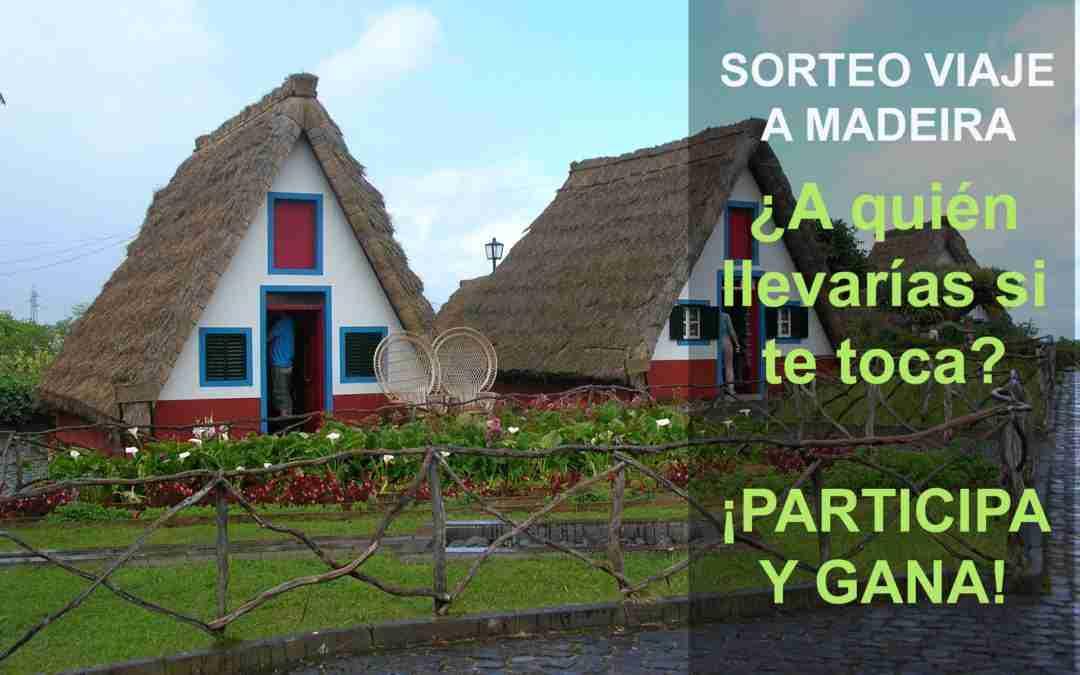 Sorteo de un viaje a Madeira para 2 personas