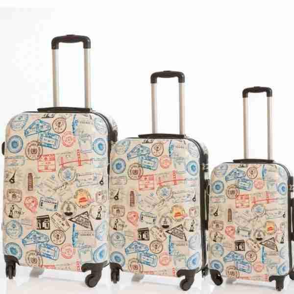cc3de42e0 JUEGO DE MALETAS PASAPORTES | La agencia de los muy viajeros