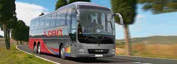 Alquiler autobuses Ronda