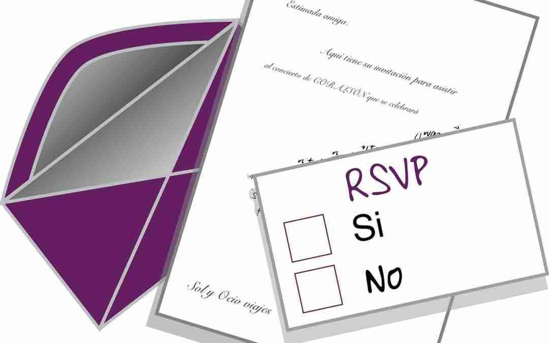 Invitaciones adicionales para CORALSÓN