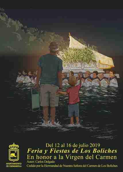 Fiesta de la Virgen del Carmen Fuengirola, Turismo Marinero