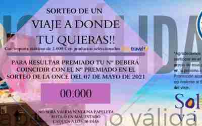 SORTEO DE UN VIAJE A DONDE TU QUIERAS!!